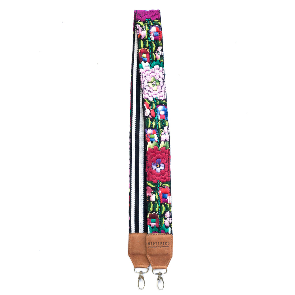 Leather Embroidered Strap - No. 485 Diecinueve