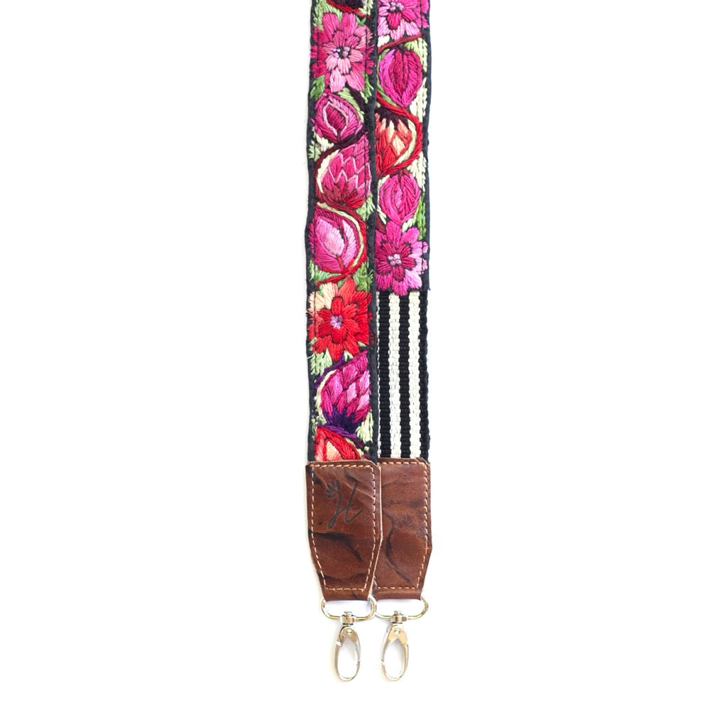 Leather Embroidered Strap - No. 490 Veinticuatro