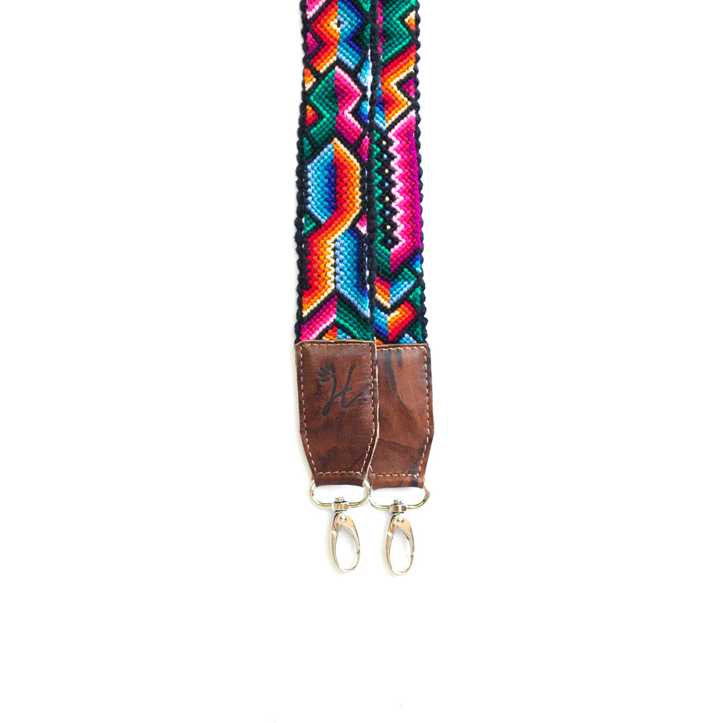 Thin Leather Embroidered Strap - No. 492 Veintiséis