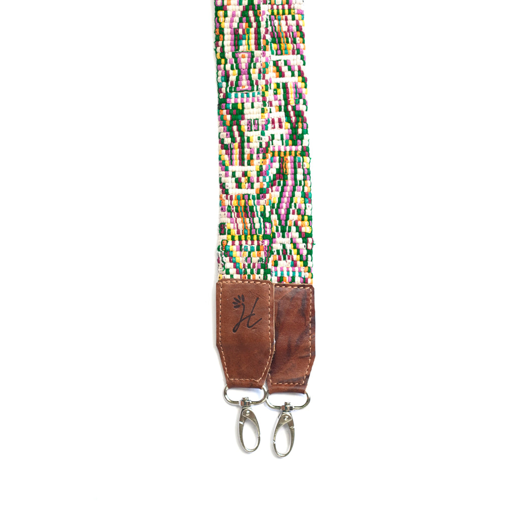 Thin Leather Embroidered Strap - No. 494 Veintiocho