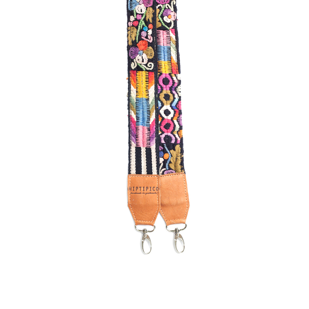 Leather Embroidered Strap - No. 498 Treinta y dos