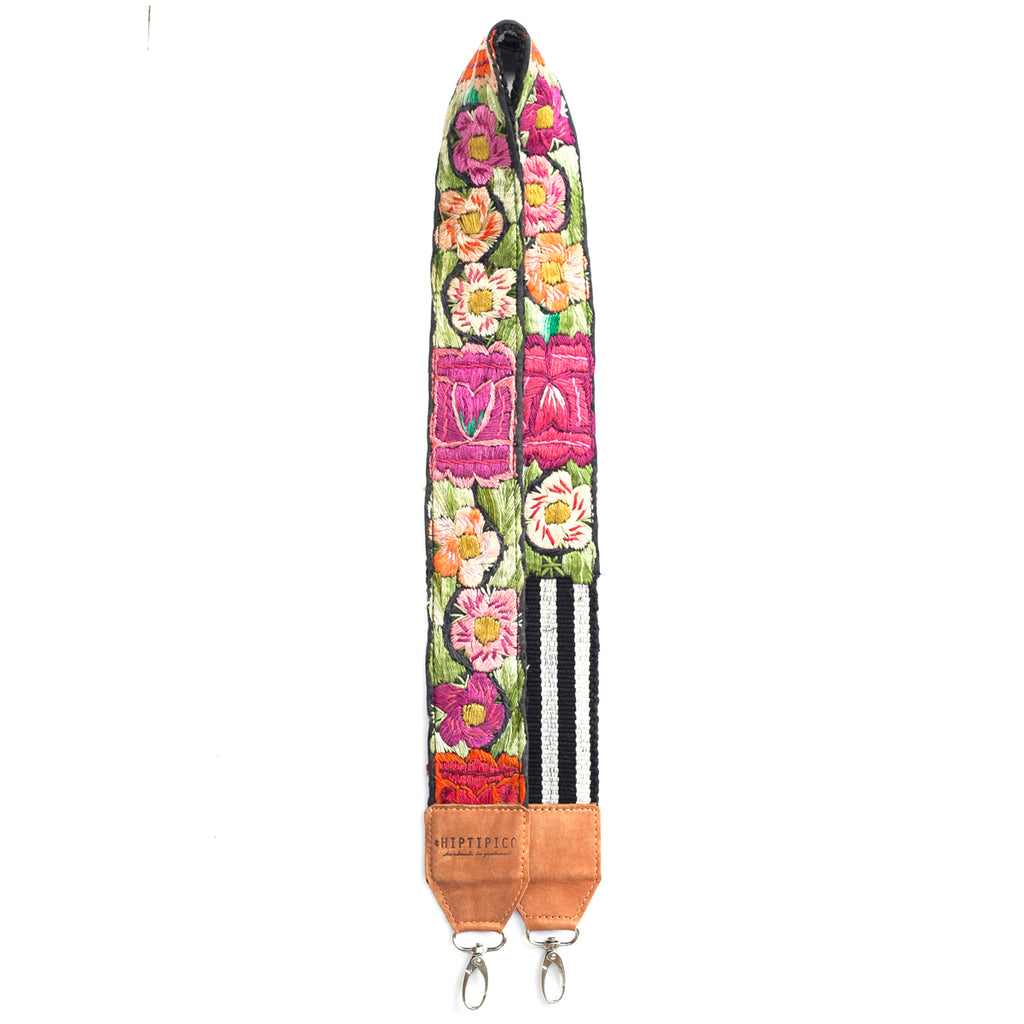 Leather Embroidered Strap - No. 506 Cuarenta