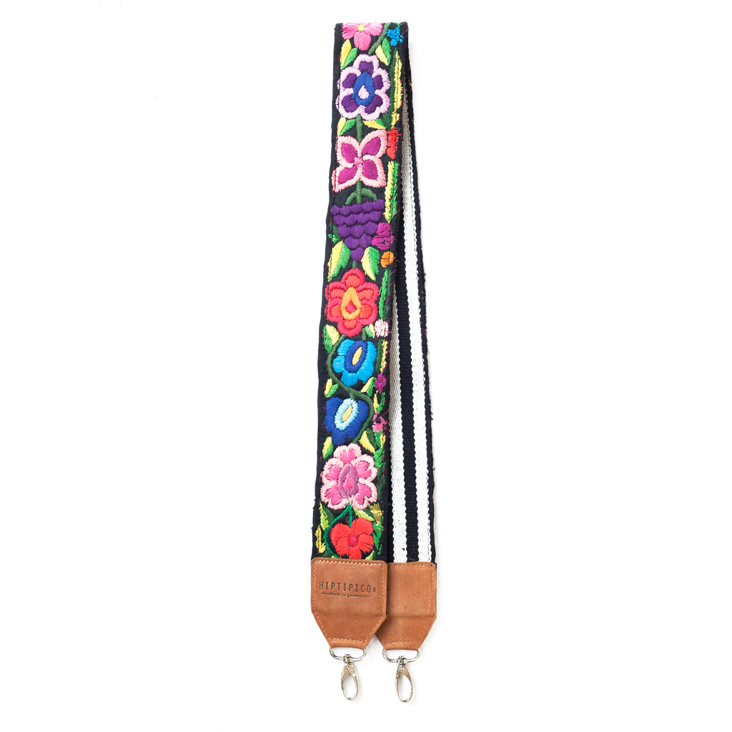 Leather Embroidered Strap - No. 570 Cien