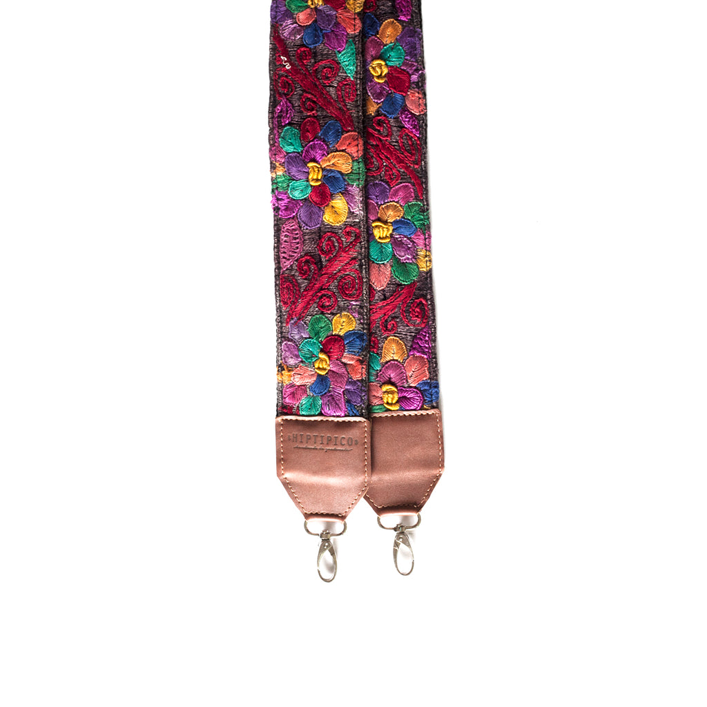 Leather Embroidered Strap - No. 539 Sesenta y nueve