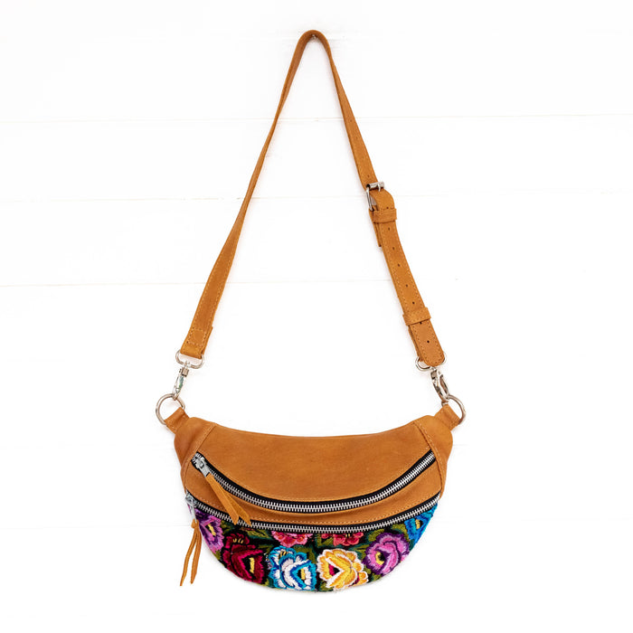 Sling Bags:  Hiptipico Sling Bags, Hiptipico Fanny Packs, Hiptipico Belt Bags, Full Leather Belt Bags, Floral Textiles Sling Bags, Guatemalan Textile Sling Bags, Top Grain Leather Fanny Packs, Free People Sling Bags, Free People Leather Convertible Bags,