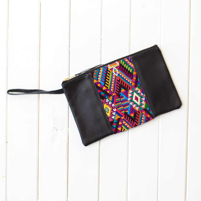 Wander Leather Wristlet - 022 Buenos Aires