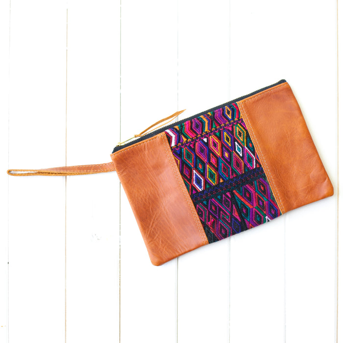 Wander Leather Wristlet - 030 Caracas