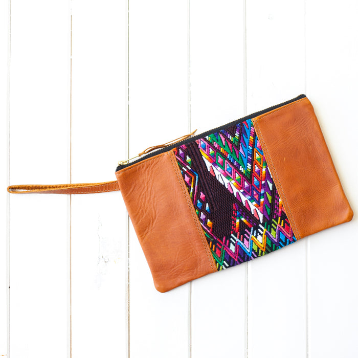 Wander Leather Wristlet - 032 Salvador