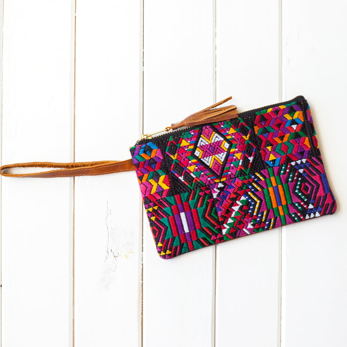 Wander Leather Wristlet - 052 Campinas