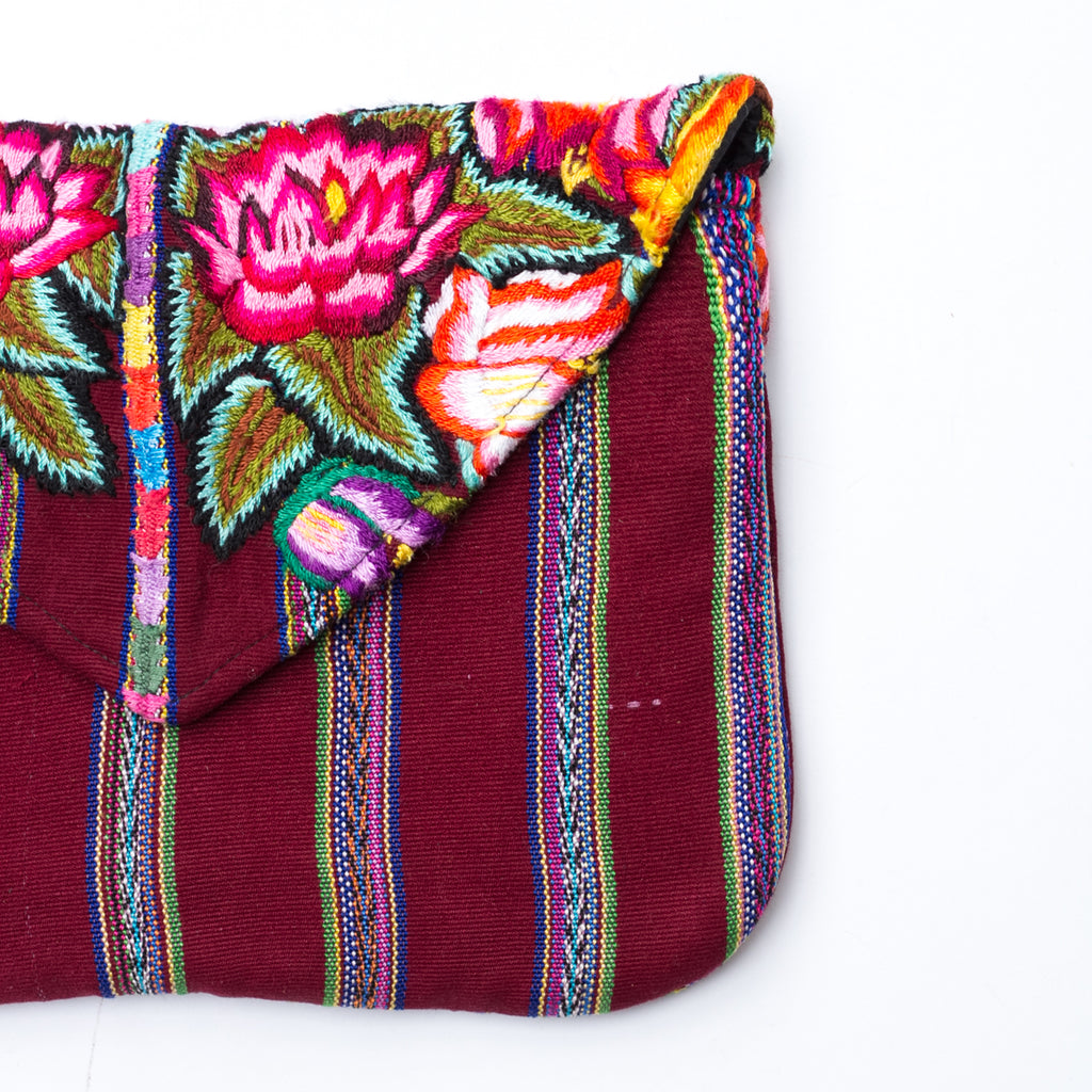 Embroidered Ipad Case 005 - La Villa