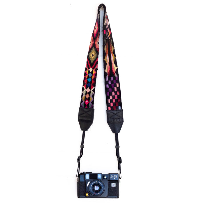 Vintage Embroidered Camera Strap - V1050