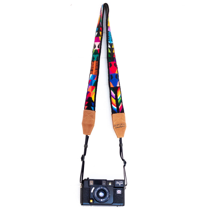 Vintage Embroidered Camera Strap - V1054