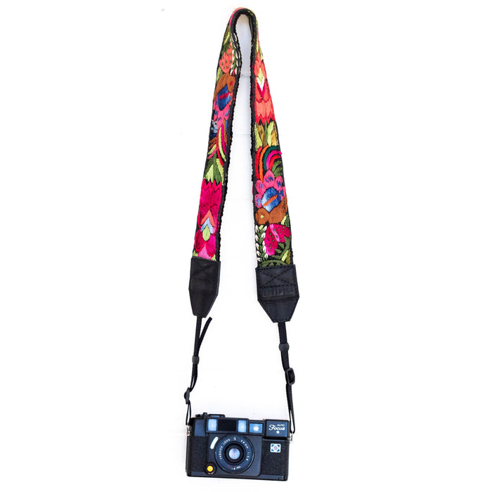 Vintage Embroidered Camera Strap - V1060