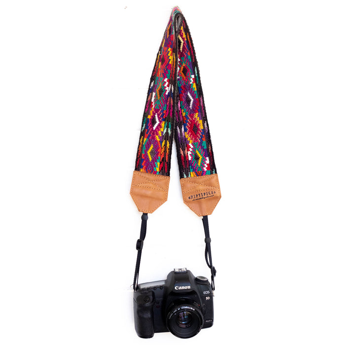 Vintage Embroidered Camera Strap - V1061