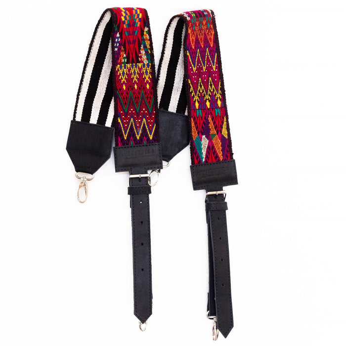 Vintage Embroidered Backpack Strap - V10100