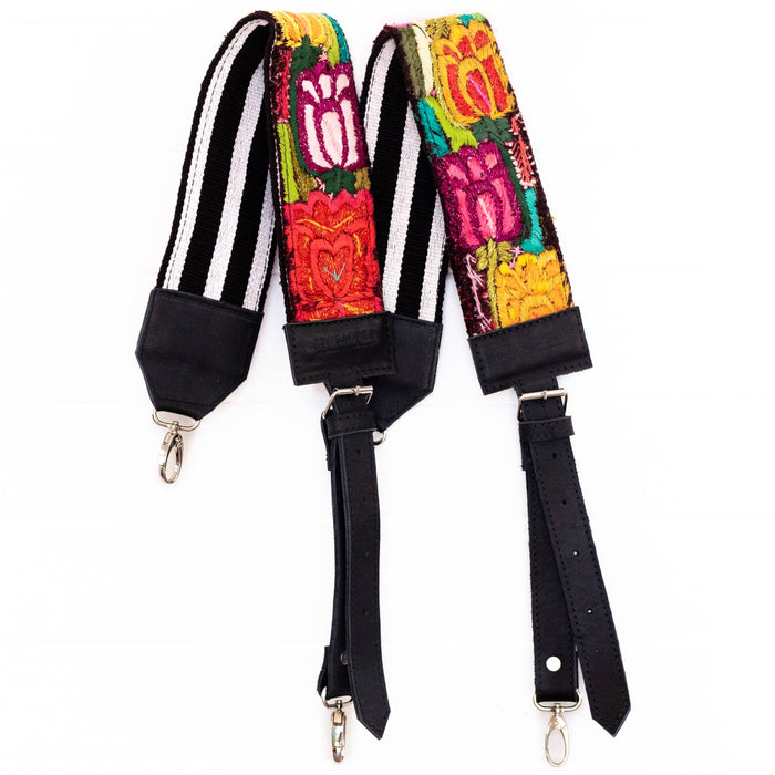 Vintage Embroidered Backpack Strap - V10104
