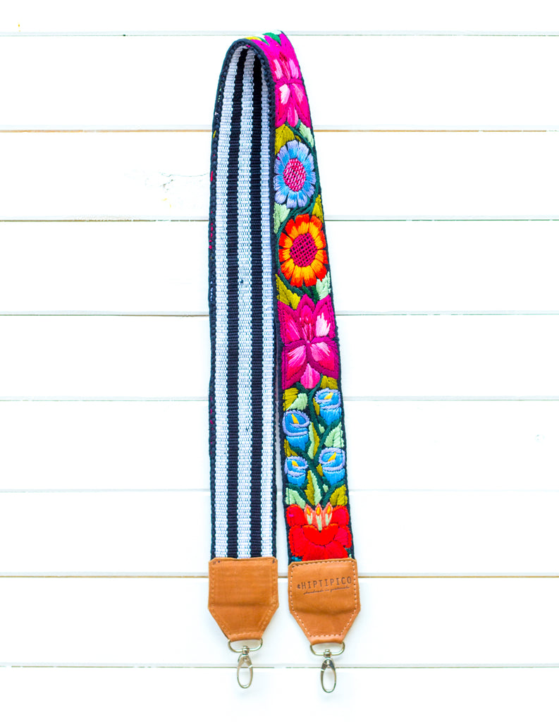 Chontalá Embroidered Strap - Vineyard