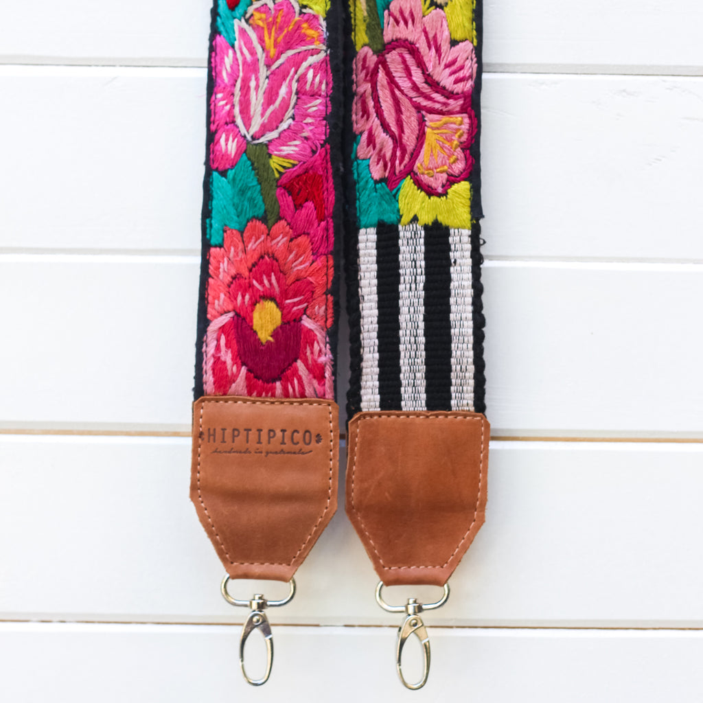 Leather Embroidered Strap - No. 929 Grand Prairie