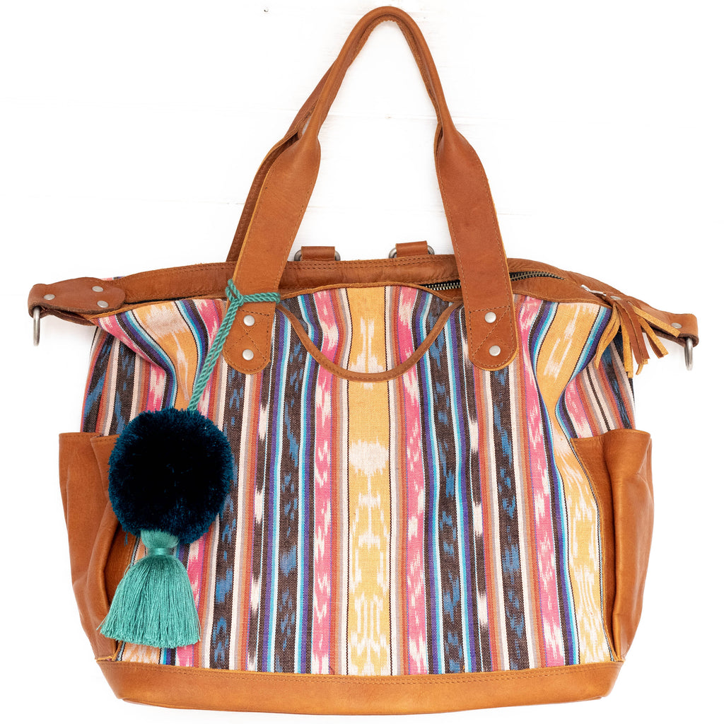 Natural Dye Convertible Bag - Full Panel