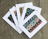 Hiptipico Stationery Greeting Cards, Embroidered Stationery, Stationery Addict, Bohemian Office Accessories, Boho Floral Greeting Cards, Boho Wedding Invitations, Boho Birthday Greeting Card