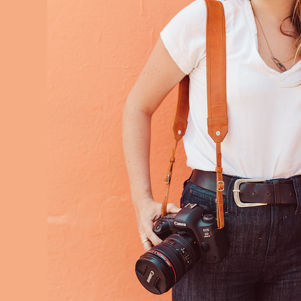 Classic Leather Camera Strap