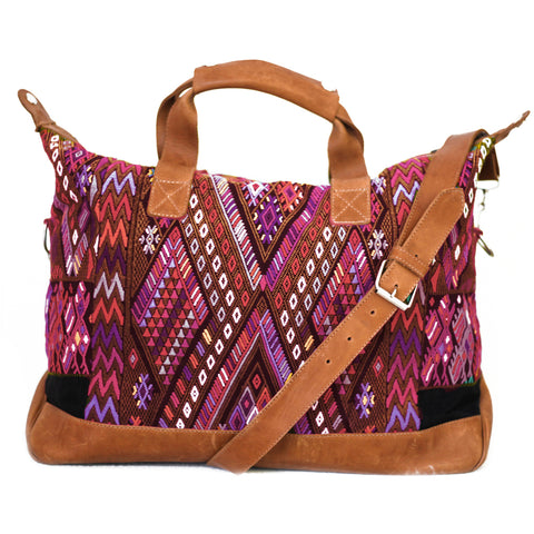 Hiptipico Weekend Travel Bags, Cute Weekend and Travel Bags for Women, Artisanal Duffle Tapestry Embroidered Bags, Unique Carryall and Carry-ons for Bohemian Traveling Woman, Bohemian Textile Festival Spacious Weekend Bag, Free People Duffle Bag
