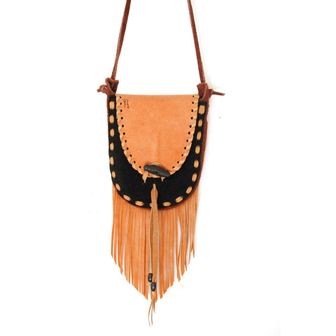 Hiptipico Fringe Cross Body Bag, Bohemian Woven Fringe Bags, Boho Festival Fringe Crossbody Bags, Leather Fringe Handbag for Women, native american leather bag, native american style fringe purse