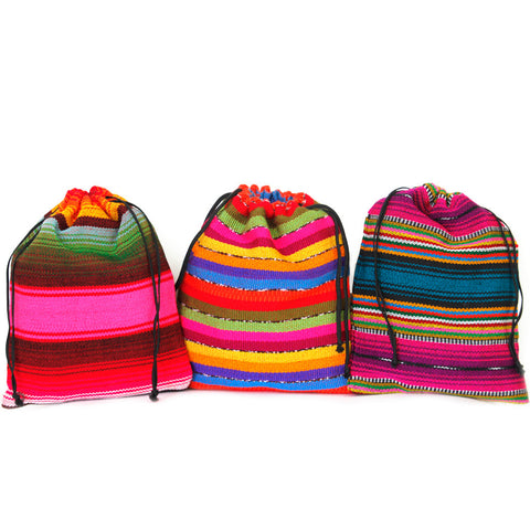 Guatemalan coffee, straight to your door! Three colorful bags hold your Cafe Loco coffee!