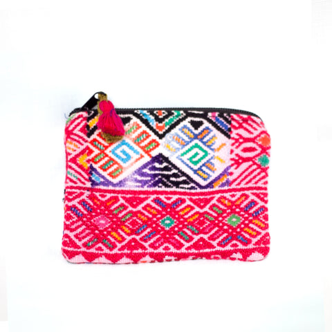 Nahualita Pink Travel Pouch