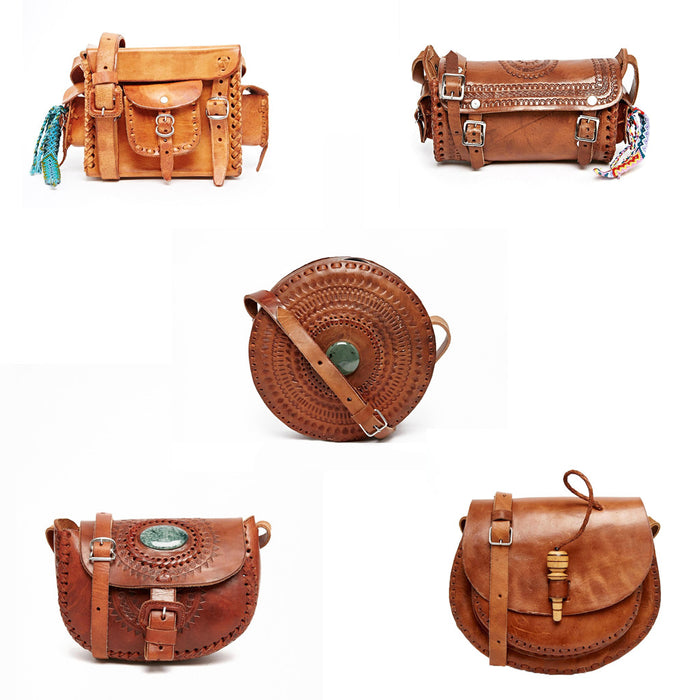 Wholesale: Leather Crossbody Bags