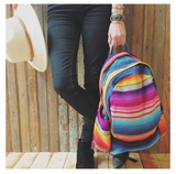 urban outfitters backpack, rainbow backpack, handmade backpack, festival backpack, hiptipico backpack
