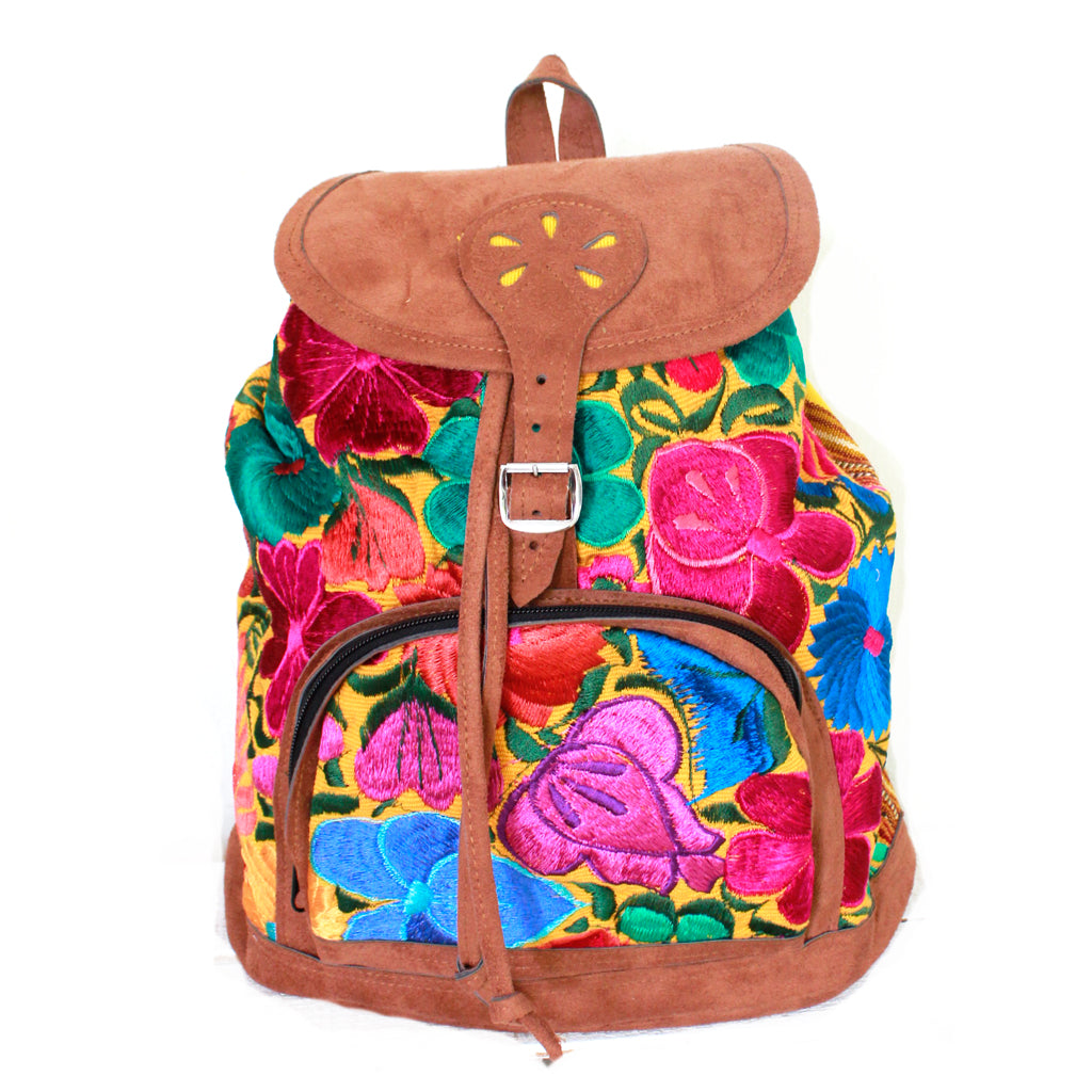 Vegan Flora Backpack - Multi Color