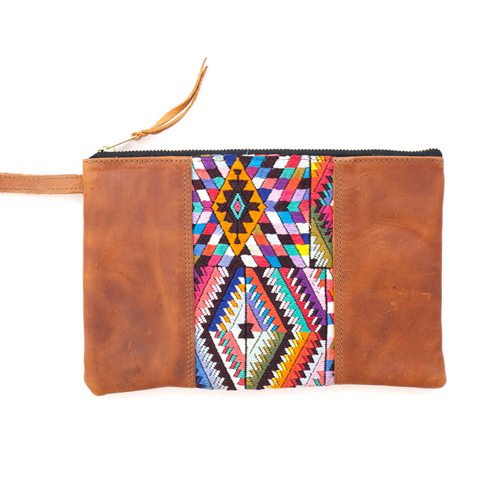Wander Leather Wristlet - 012 Rumba
