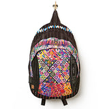 wanderlust backpack, tribal backpack, hiptipico backpack, free people backpack, guatemalan backpack, handmade backpack, festival backpack, bohemian backpack