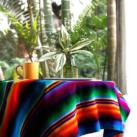 Hiptipico Blankets, Handmade Ethical Sustainable Home Decor, Guatemalan Blankets, Mexican Vibrant Colorful Blanket, Embroidered Tribal Blanket, Colorful Picnic Blanket, Bohemian Festival Blanket, Boho Blanket