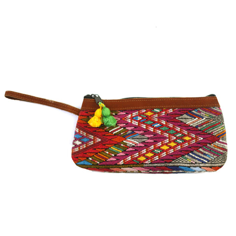 travel pouch, hiptipico travel bag, passport wallet, guatemalan bag, guatemala clutch, handmade clutch, travel clutch, hiptipico ethical fashion, hiptipico drift wallet