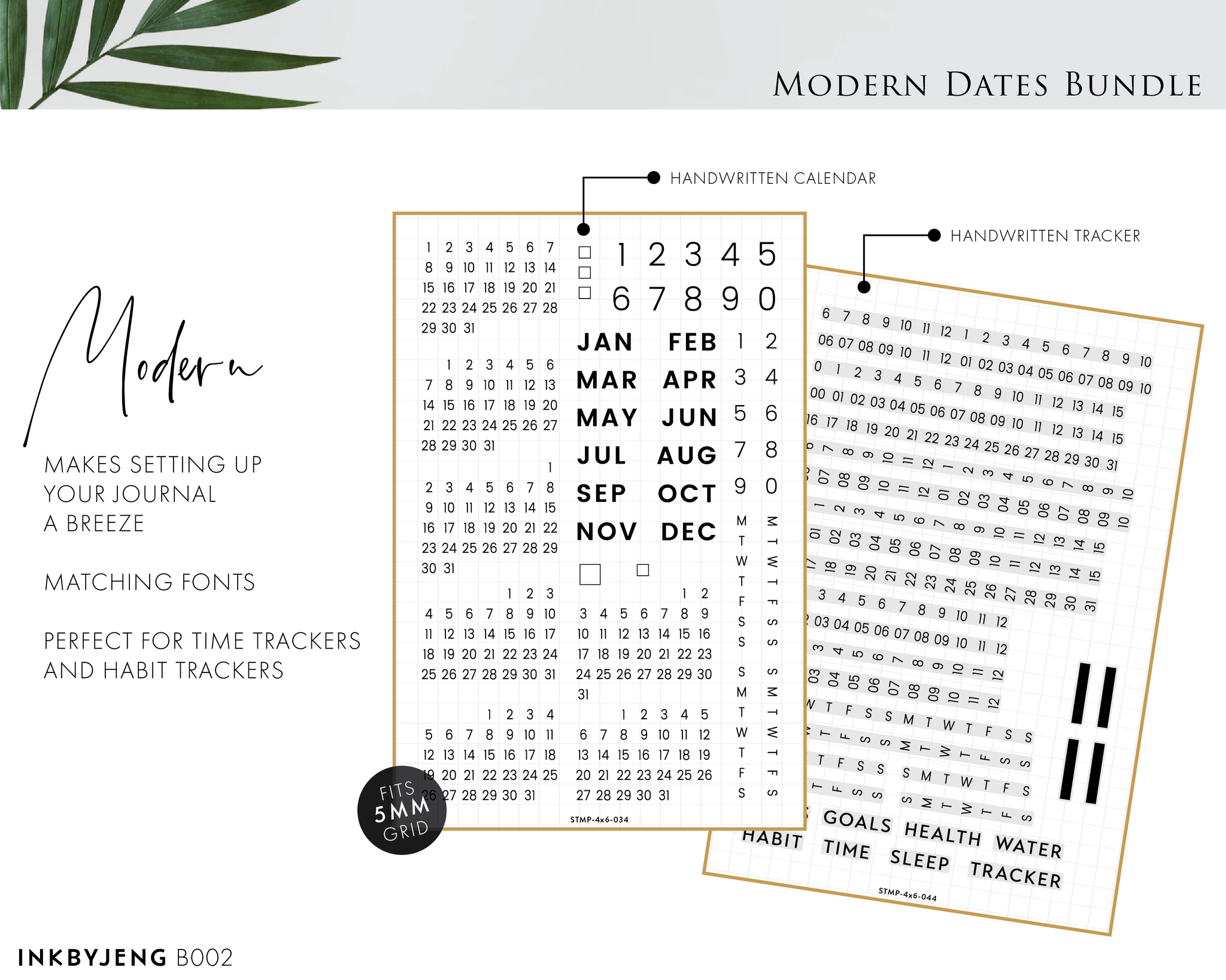 Modern Dates Bundle (B002)