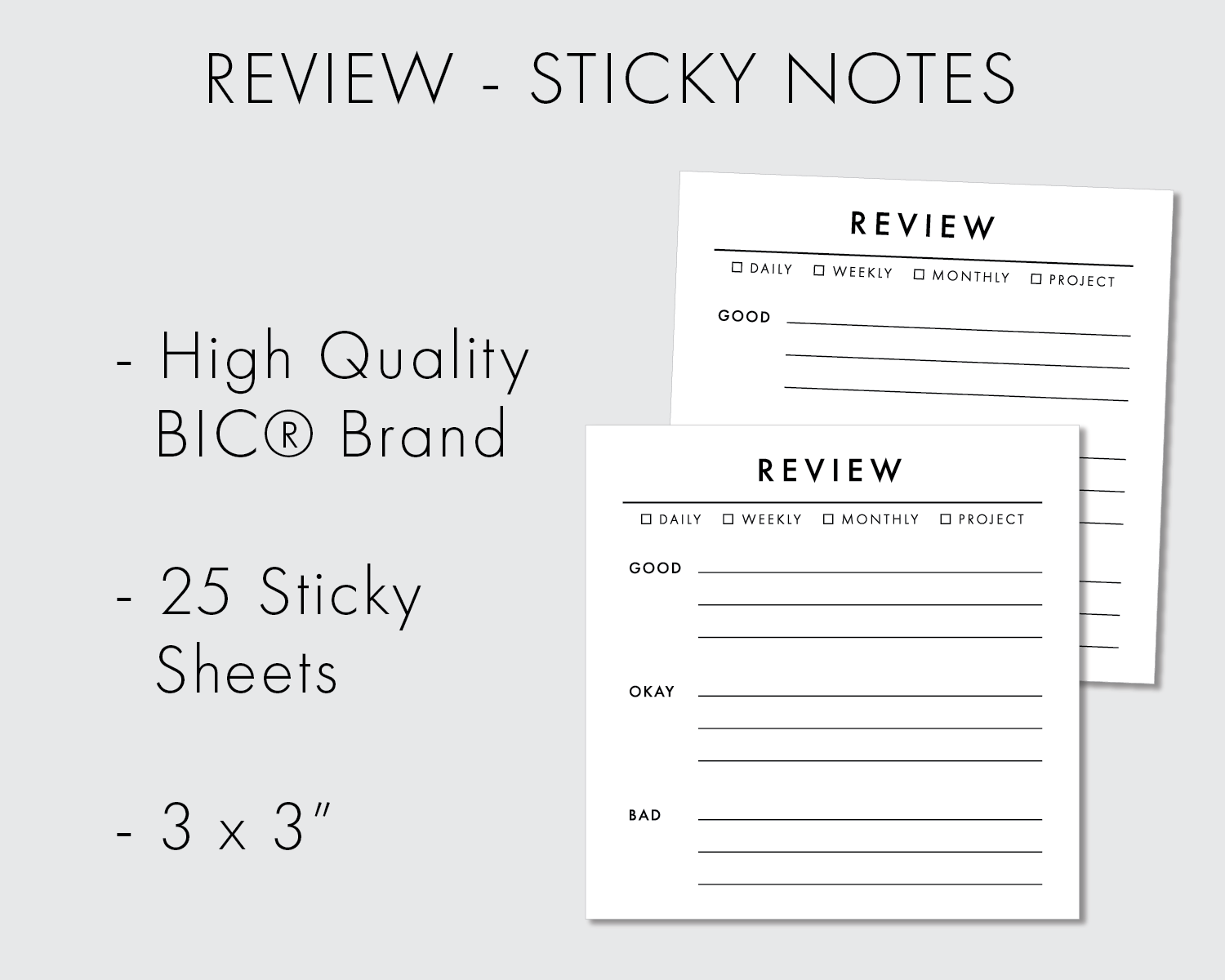 Sticky Notes - Review - 25 pages (083)