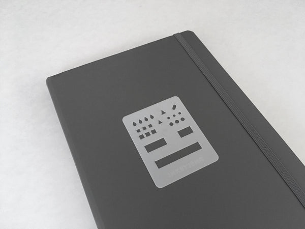 Small Dot Grid Journaling Stencil (014)