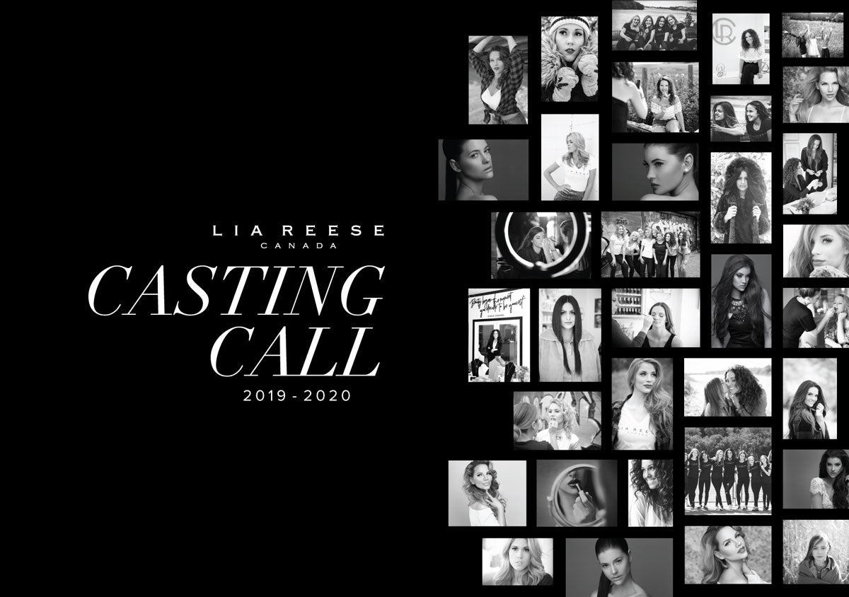 lia reese casting call collage