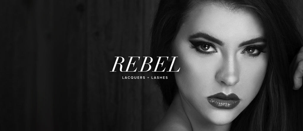 rebel lacquers and lashes