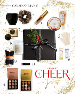 CHEER Holiday Gift Box By Jess Tetu