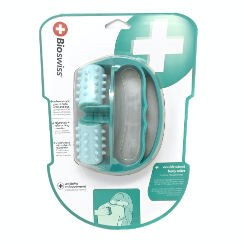 Bioswiss Double Wheel Body Massager