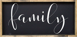 William Rae Designs Family Wooden Sign