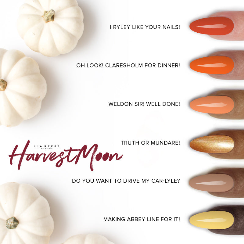 Harvest Moon Lacquer Collection