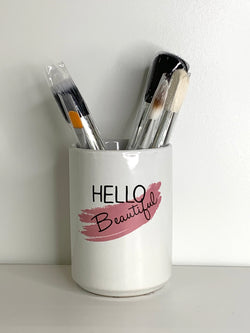 Danielle Creations Ceramic Beauty Tools Holder