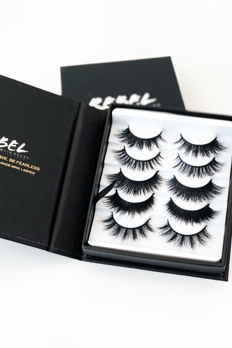Mink Lashes | Set of 5
