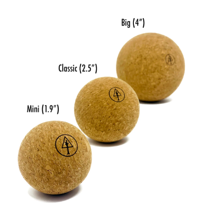 Rawlogy Cork Massage Ball