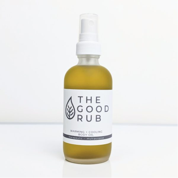 Good Rub Warming + Cooling Body Oil