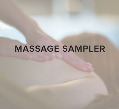 Massage Sampler